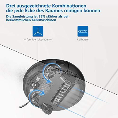Kealive Saugroboter Staubsauger Roboter Bild 3*