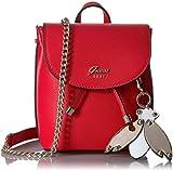 GUESS Borsa Donna BM696781/RED, Varsity Pop Mini Pin Up crsbdy larghezza 18 Altezza 21,Colore Rosso, Nuova Collezione Primavera Estate 2018