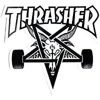Thrasher Skategoat Die Cut White Sticker