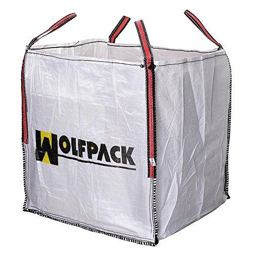 Wolfpack 2240600 Saco Obra Big Bag 90x90x90cm