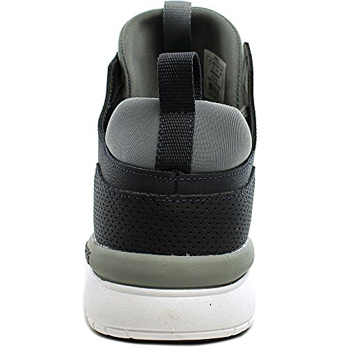 Supra Method Hommes Synthétique Chaussure de Basket Dark Grey- White
