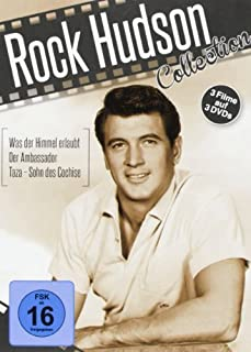 Rock Hudson Collection: The Ambassador (1984) / Taza, Son of Cochise (1954) / All That Heaven Allows (1955) [3 DVDs, Region 2 P