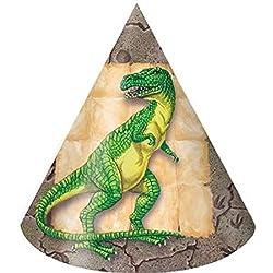 Dinosaur Hat Child - 8/pkg.