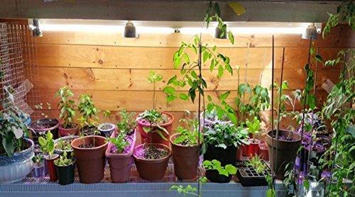 Luce full spectrum led 5 w per coltivazione indoor attacco e27 per