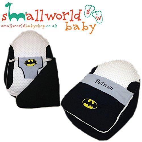 Personalisierte Batman Baby Sitzsack Schlafen, Pods