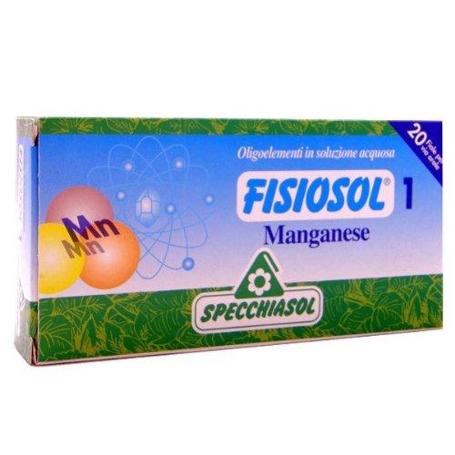 FISIOSOL un MANGANESO 20 flacons