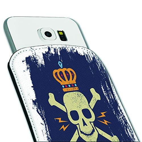 Sleeve Style Handy Tasche Case Schutz Hülle Schale Motiv Etui für Apple iPhone 6 / 6S - Sleeve UBS13 Design9 Design 5