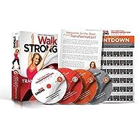 Walk Strong: workout video DVD per donne, la perdita di peso migliore cardio 6settimana, a basso impatto, HIIT esercizi per le donne. beginner to Advanced fitness, massima fat Burning. Best Value.