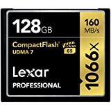 Lexar Professional - LCF128CRBEU1066 - Carte Mémoire CompactFlash - UDMA 7 1066x
