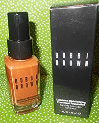 Bobbi Brown Luminous Moisturizing Treatment Foundation Walnut 8 Boxed 1 Fl Oz