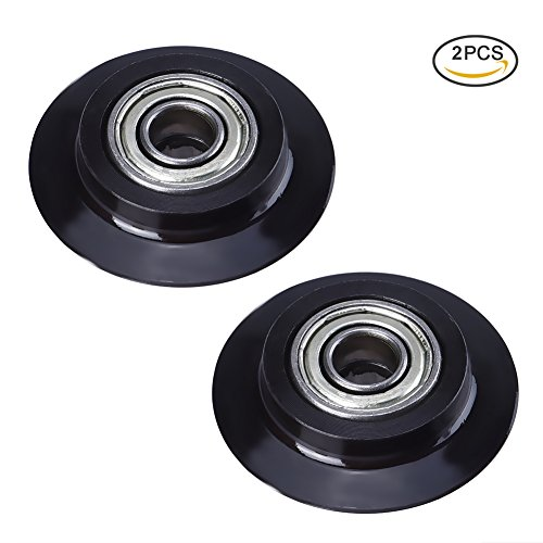Steel Pipe Cutter (TOOLTOO Tubing Cutter Replacement Wheels Steel Pipe Cutter Wheels Tube Cutter Wheel, Perfect for Cutting Copper, Aluminum, PVC and Stainless Steel Tubes, Black)