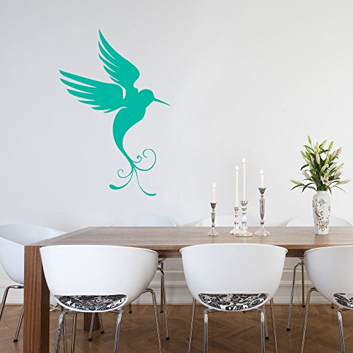 Decorative Bird Wall Decal Wall Art Wall Sticker Pretty Bird Bird Decal Bird Sticker Home Decor Wall Mural Whimsical Sticker Vinyl -