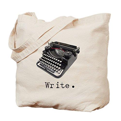 CafePress-Schreibmaschine-Leinwand Natur Tasche, Reinigungstuch Einkaufstasche Tote S khaki