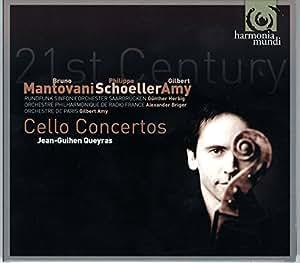 Mantovani / Schoeller / Amy: Cello Concertos