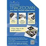 Frisk Tracedown - Papel de calco gráfico (A4, 5 unidades), color blanco