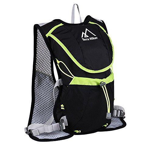 Trinkrucksack, Terra Hiker Ultralight Laufrucksack, Fahrradrucksack, Ideal für Radsport, Laufen, Joggen (Trinkblase nicht Enthalten)