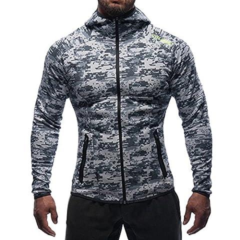 Broki - Sweat-shirt à capuche - Homme - multicolore - M