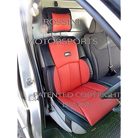 Renault Trafic 2014Van asiento para SJ 06Rossini 1de piel sintética PVC rojo del conductor sólo