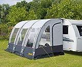 Premium Caravan-Vorzelt mit Luftgestänge Rimini Air 390, B390xT235xH245cm