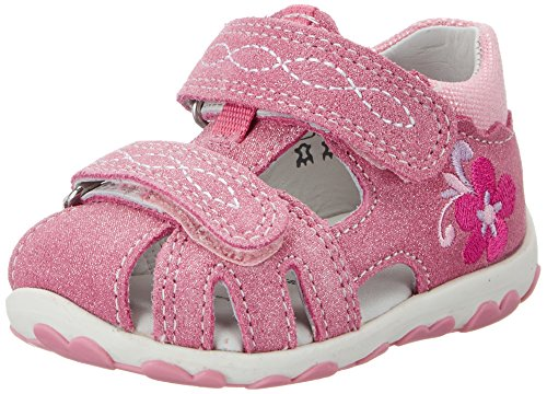 Superfit Mädchen Fanni Geschlossene Sandalen, Pink (Petal Kombi), 19 EU
