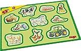 Haba 302839 Meine ersten Rahmenpuzzles – Bauernhof