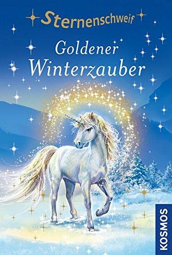 Sternenschweif, 51, Goldener Winterzauber: Jumboband mit zauberhaftem Bügelbild
