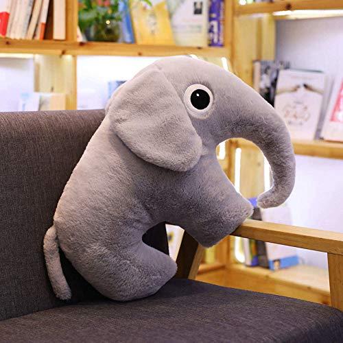 luludsoo Plüsch Spielzeug Tiere Gefüllt Kissen Spielzeug, Geburtstag Geschenk Urlaub Geschenk Party Liefert Für Kinder Baby Paare, Pp Baumwolle 50cm Grauer Elefant - Grauer Dekorationen Baby Elefant
