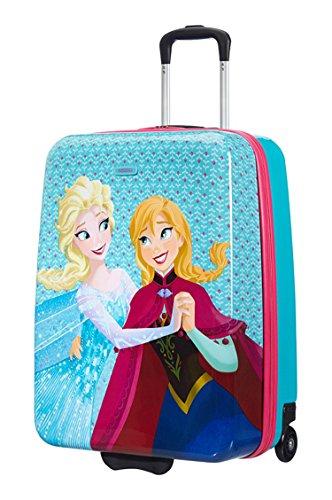 Disney New Wonder Hard Upright 60/22 Frozen Equipaje Infantil, 55 Litros, Color Azul