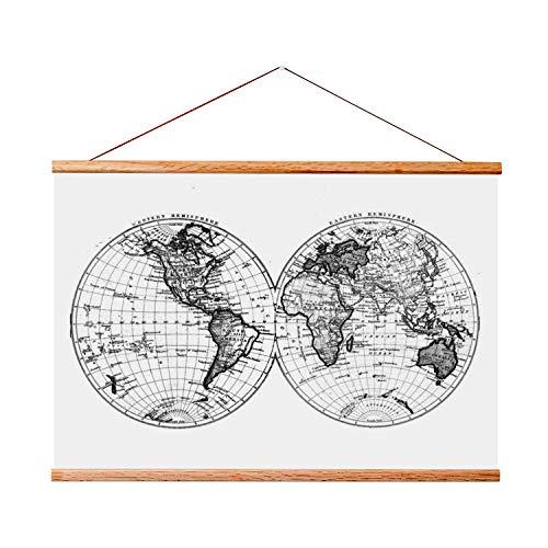 Landmass 17x 24Rahmen für Scratch Map Off. Magnetisch Kleiderbügel Rahmen für Poster und Kunstdrucke