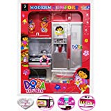 Modern Kitchen Play Set With Light And Sound (Random Models) (Dora Explorer Kitchen Set)