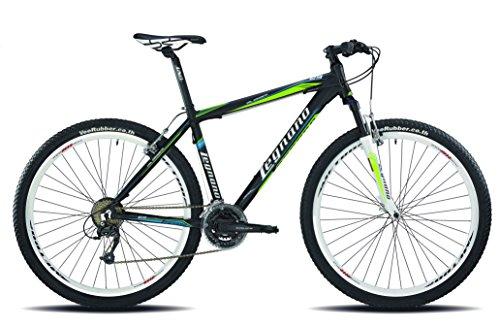 Legnano Ciclo 610 Val Gardena, Mountain Bike Uomo, Nero/Verde, 40
