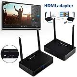 ELECTROPRIME 2F58 Quality Wireless Transmission Kit HDMI Receiver HDTV HDMI Transmitter