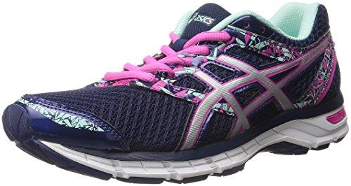 ASICS Gel-Excite 4Scarpe da Corsa (T6E8N), (Grape/Silver/Begonia Pink), 42 EU