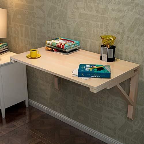 Ailjcz ailj Wandtisch Aus Massivholz, Klapp Den Esstisch, Wandtisch, Computertisch, Kreative Wandleiste (größe : 100 * 50cm) - Klapp-esstisch