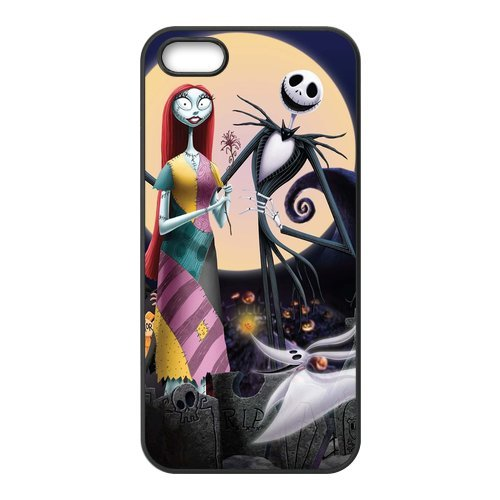 The Nightmare Before Christmas rigide en silicone TPU pour Apple iPhone 5S, iPhone 5S Case Cover, iPhone 5 Case, beau design Coque de protection pour Apple iPhone 5/5S