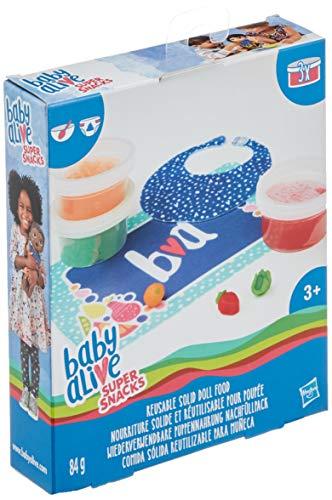 Baby Alive - Pack Accessoires Poupees Miam Miam Les Bonnes Pates - C2727
