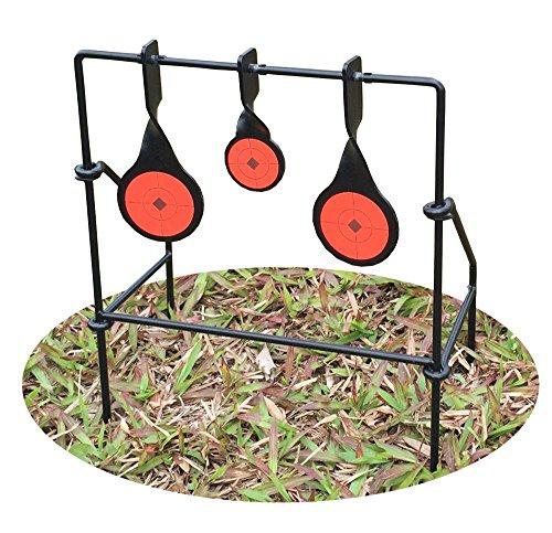 Target House Metallic Triple Spinner Target für .22, 762239Air Gewehr