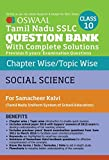 Oswaal  SSLC Question Bank with Complete Solution for Samacheer Kalvi Class 10th Social Science
