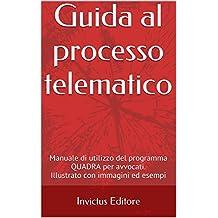 Guida al processo telematico: manuale di utilizzo del programma QUADRA per avvocati (Italian Edition)