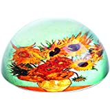 Van Gogh–girasoles–Pisapapeles de cristal