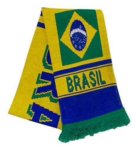 Bufanda de fútbol de Brasil