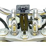 BuyBits 17.5-20.5mm BuyBits Original Supplémentaire Support Tige Fourche Moto pour Garmin Zumo 595LM 395LM 345LM