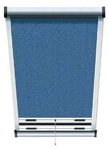 schellenberg 50535 insektenschutz rollo f r dachfenster 70 x 140 cm blau eloxiert. Black Bedroom Furniture Sets. Home Design Ideas