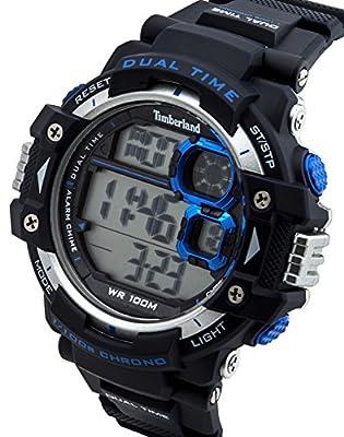 Timberland 0 - Reloj de cuarzo para hombre, con correa de resina, color azul de Timberland