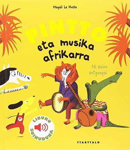 Pintto eta musika afrikarra por Magali Le Huche