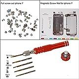 eJiasu Professional Magnetic Project Pad Mat, Schraubensätze, Pentalobe Schraubendreher für iPhone 6/6 Plus / 6S / 6S Plus, iPhone 7/7 Plus(IPhone7 Reparatur-Werkzeug-Set)