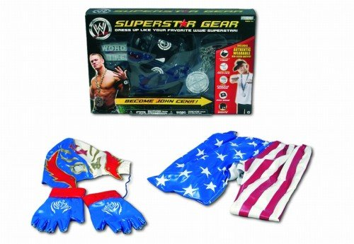 Giochi Preziosi 70931401 - WWE - Role Play 1 Outfit, 2-fach sortiert John Cena, Ray Mysterio (Cena Outfit John)