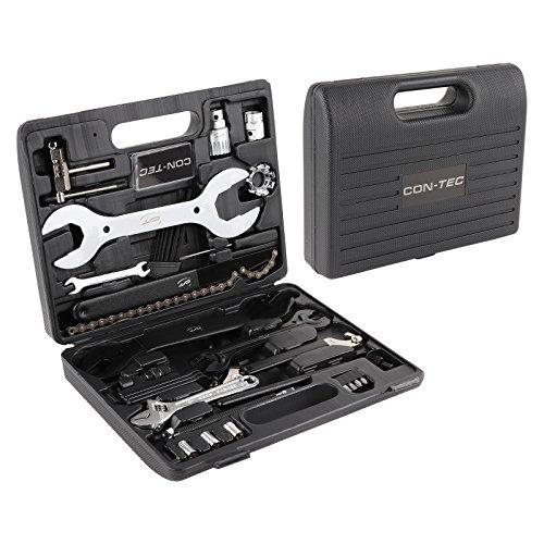 Fahrrad Werkzeugkoffer Set CONTEC 36-teiliges Komplettset, handlicher Kunststoffkoffer