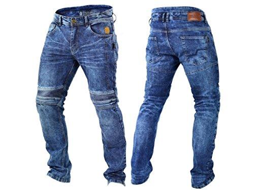 Trilobite Acid Scrambler Schwarz Herren Motorradhose Jeanshose Länge 32 Aramid Apparel & Merchandise