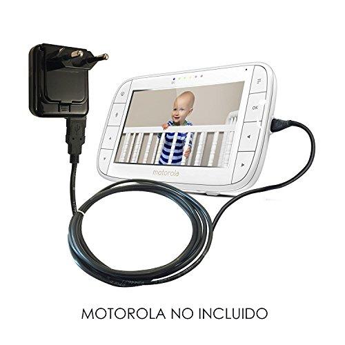 ABC ProductsReemplazoMotorolaBatería Cargador / Adaptador Adaptador Fuente de alimentaciónparaMBP33S, MBP35S, MBP36XL, MBP38S, MBP38S-2, MBP41S, MBP43S, MBP48, MBP50, MBP85, MBP853, MBP854, MBP855, MBP867 Connect Vigilabebés/bebé Baby Infant Monitor FOCUS85, FOCUS66, Pet Scout66 Camera